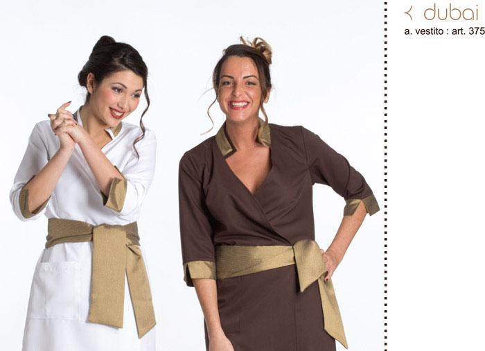 Abbigliamento professionale estetica   benessere prodotto in Italia -  Creativity clothingsxwork 7bbdf6d437f0