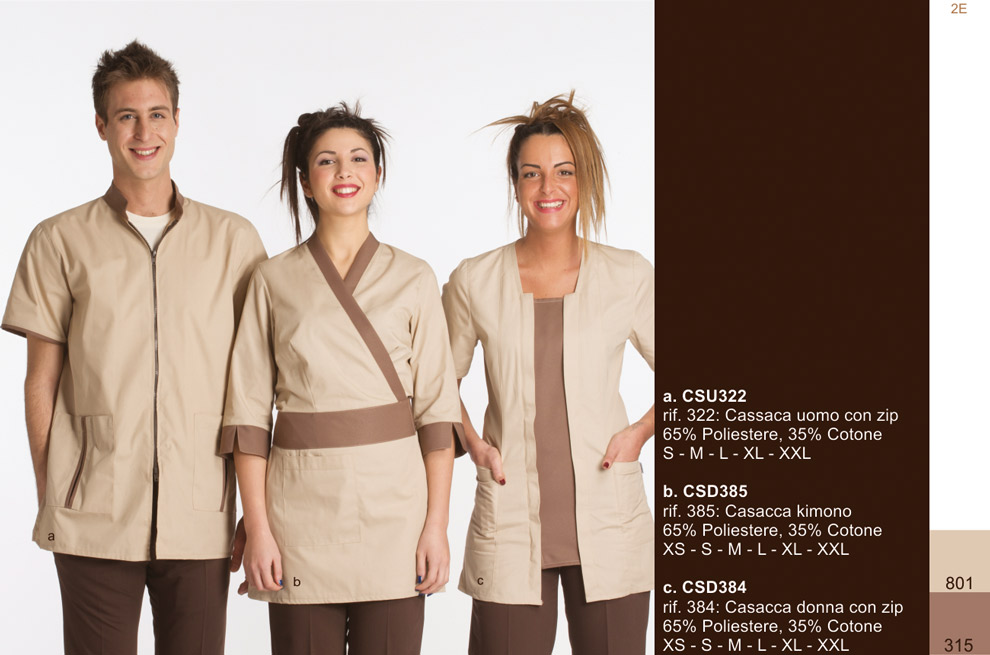Abbigliamento Estetiste - Creativity clothingsxwork 763303a2dcfc