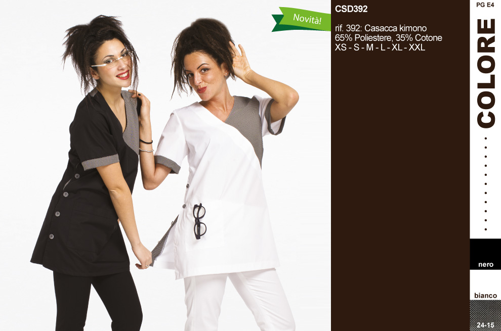 Abbigliamento per estetiste 1be35b109045