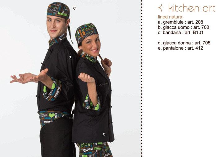 ‐Creativity‐tutto l'abbigliamento che serve per il cuoco e la cuoca&period