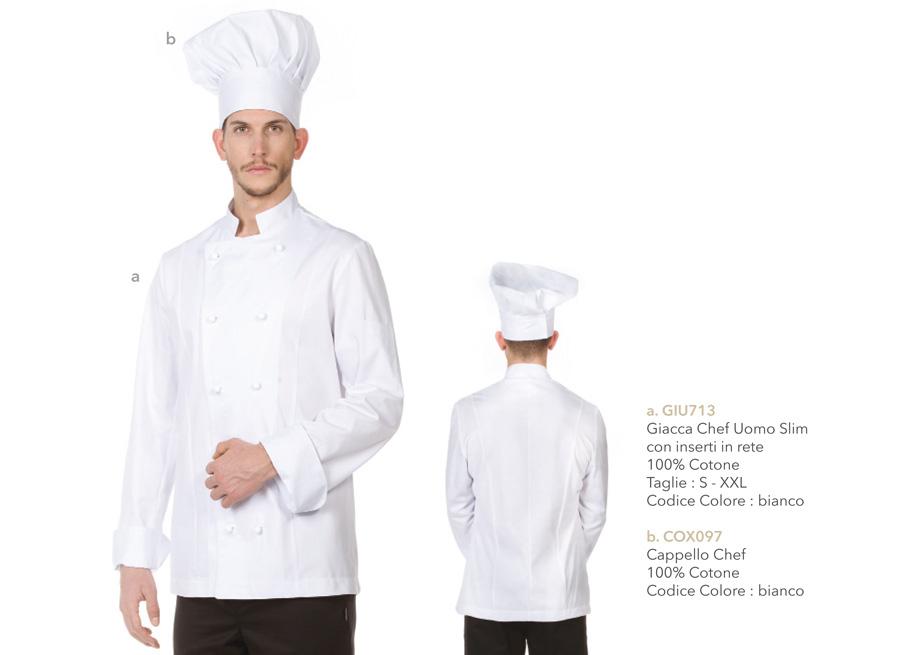 Divise cucina ristorante trattoria.
