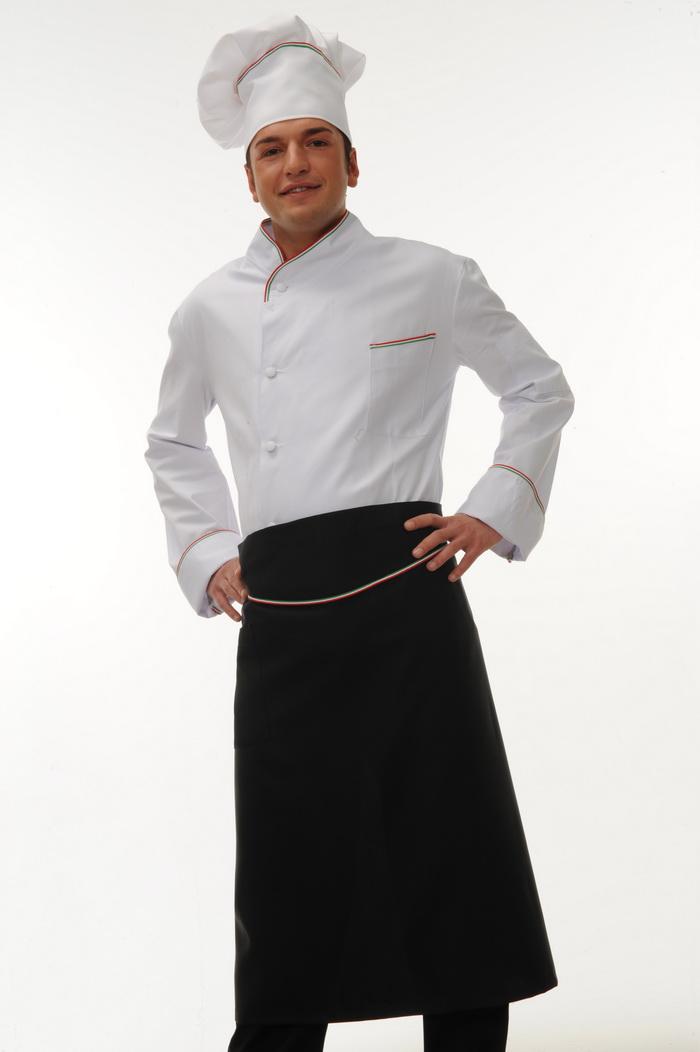 Giacche pantaloni cappelli grembiuli per chef cuochi e restaurant coat trouser apron for - Abbigliamento da cucina ...