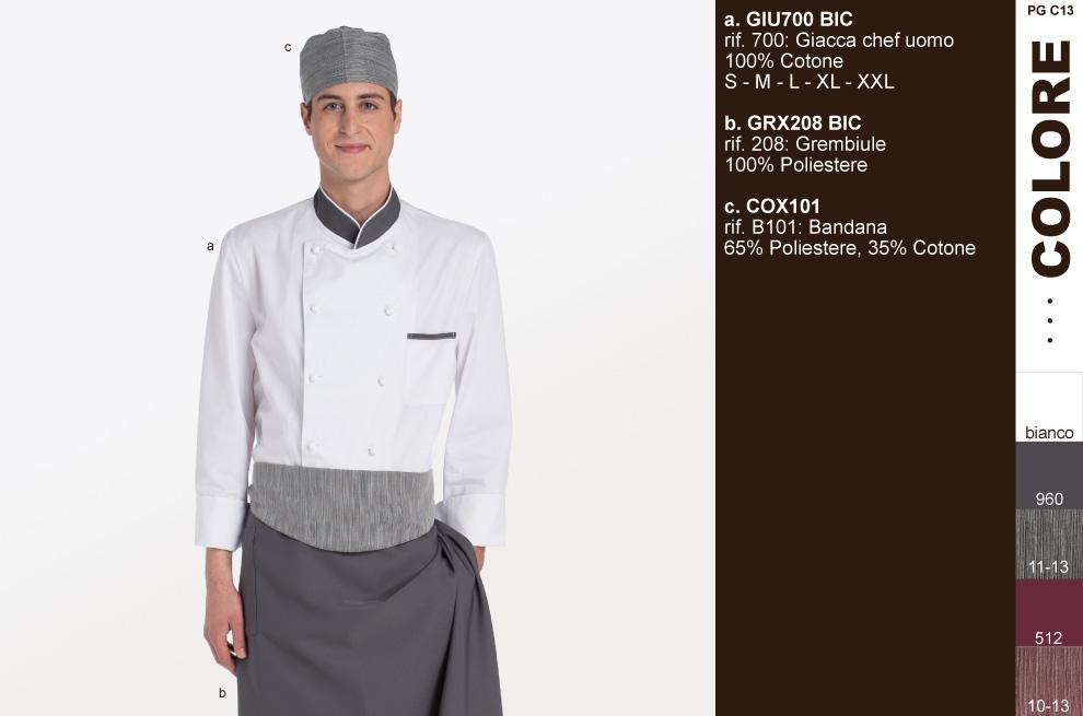 Uniformi ‐ divise cioccolaterie ‐ divisa Maitre Chocolatier.