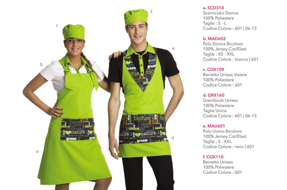 uniformi per gelaterie-caffè-cioccolaterie-panifici ‐Creativityclothingsxwork‐