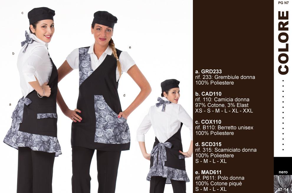 Abbigliamento lavoro-per-gelaterie-bar-pasticcerie-panifici-cioccolaterie