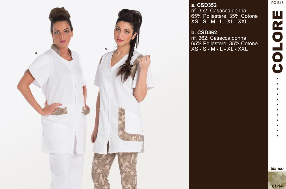 Camici grembiuli pantaloni kimono magliette polo per for Saloni eleganti