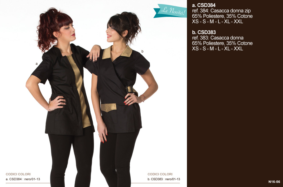 64eb91566775 Divise professionali Made in Italy  parucchiere ed estetiste - Creativity  clothingsxwork