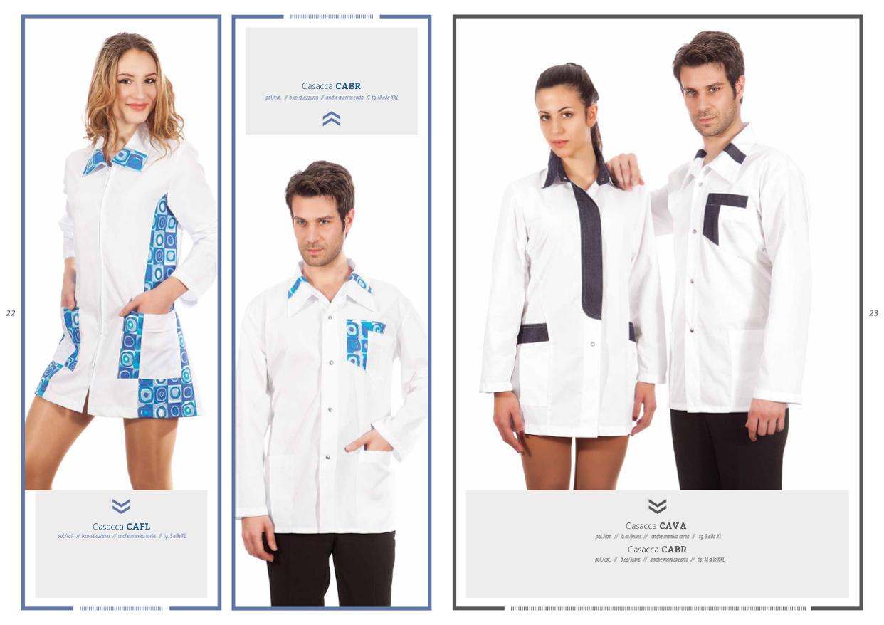 Creativity abbigliamento abiti edivise per estetiste centri estetici beauty-farm beauty -center wellness SPA