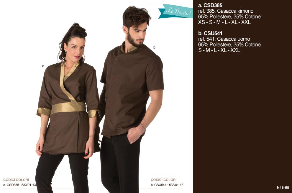 Creativity abbigliamento abiti divise per estetiste centri estetici beauty-farm beauty-center wellness SPA