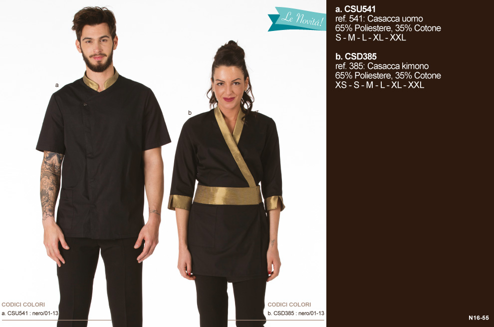 fbf235e759df Abbigliamento professionale estetica acconciatura - Creativity  clothingsxwork