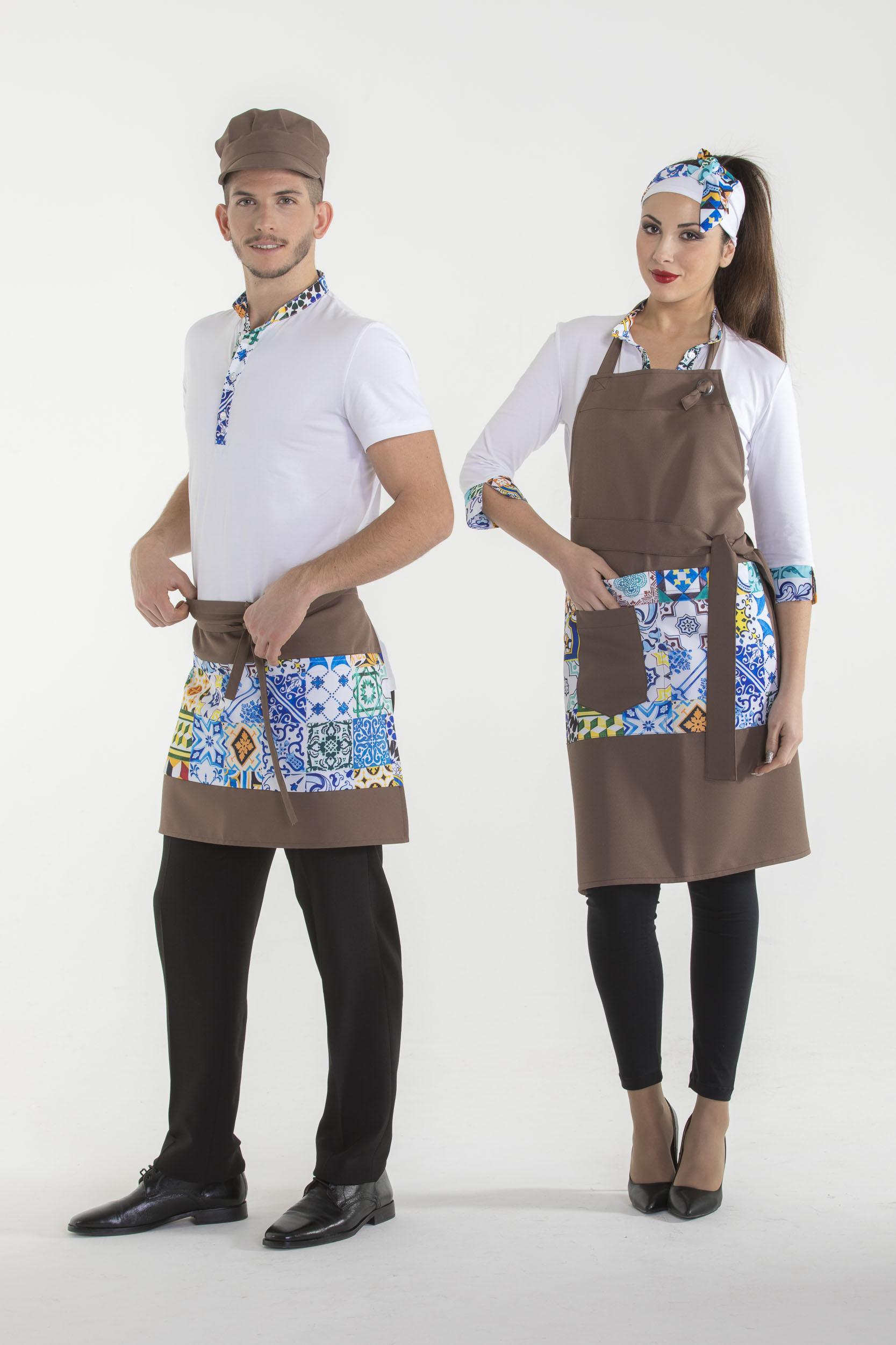 Abbigliamento ristorante|Polo camicie, pantaloni, Made in Italy-Creativity clothingsxwork-