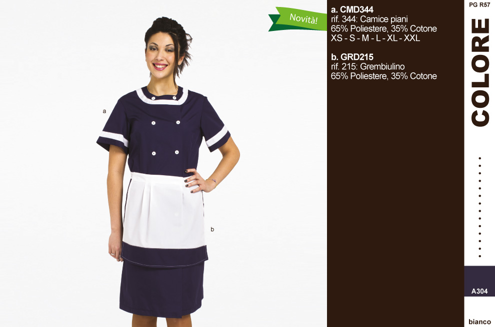 Divise hostess ricevimento - Creativity clothingsxwork -