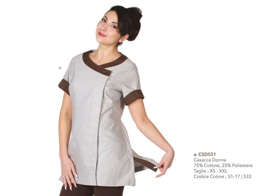 Divise cameriere ai piani - Creativity clothingsxwork -