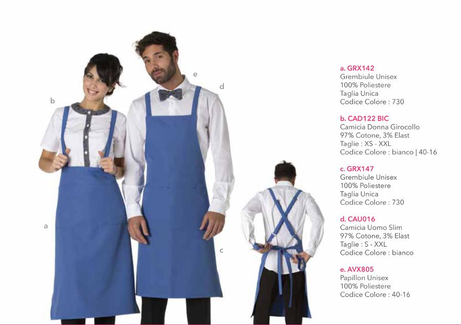 Divise hostess ricevimento - Creativity clothingsxwork