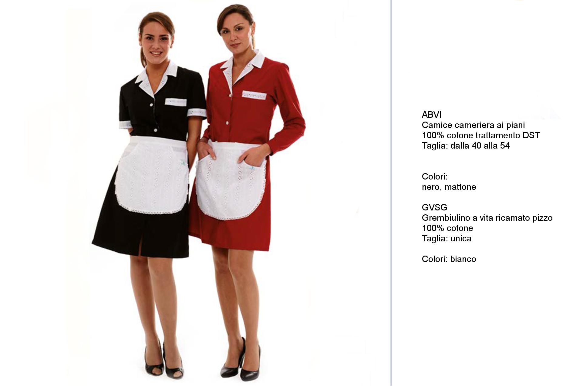 Abbigliamento reception albergo - Creativity clothingsxwork -
