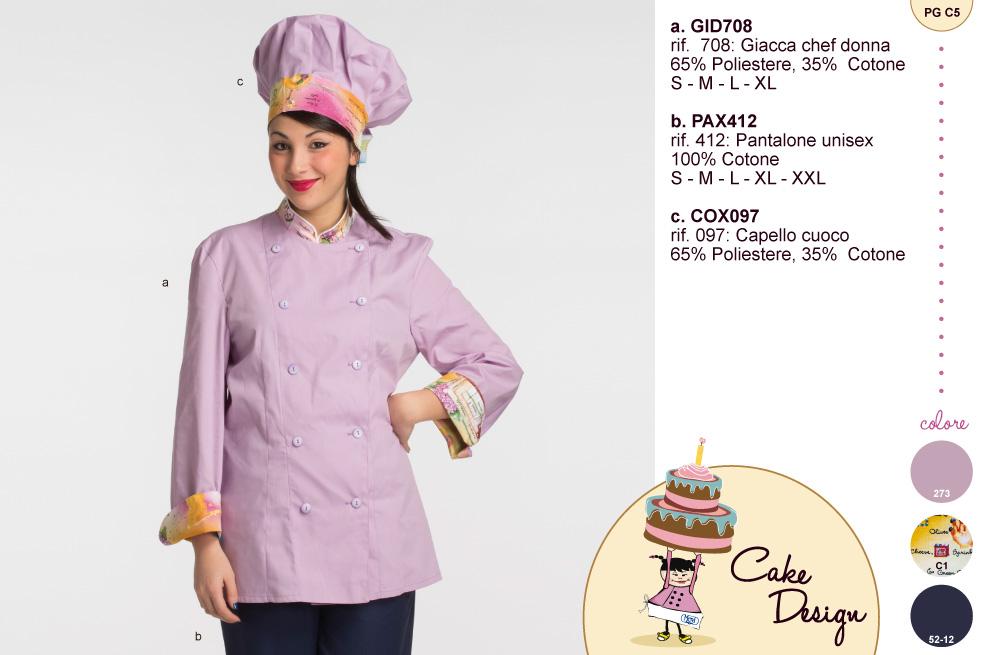 Giacca e cappello lilla per il cake design, ma se ti piacciono altri colori noi li abbiamo.