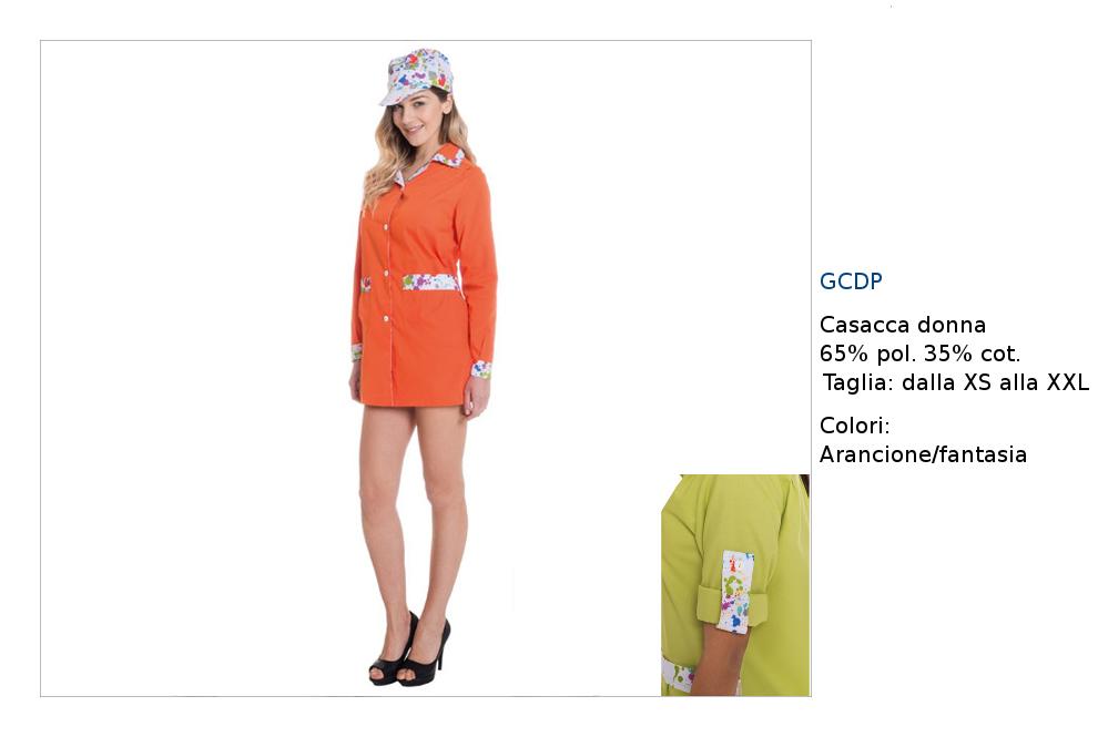 Abbigliamento cake design giacca, cappello, pantalone in abbinamento colore.