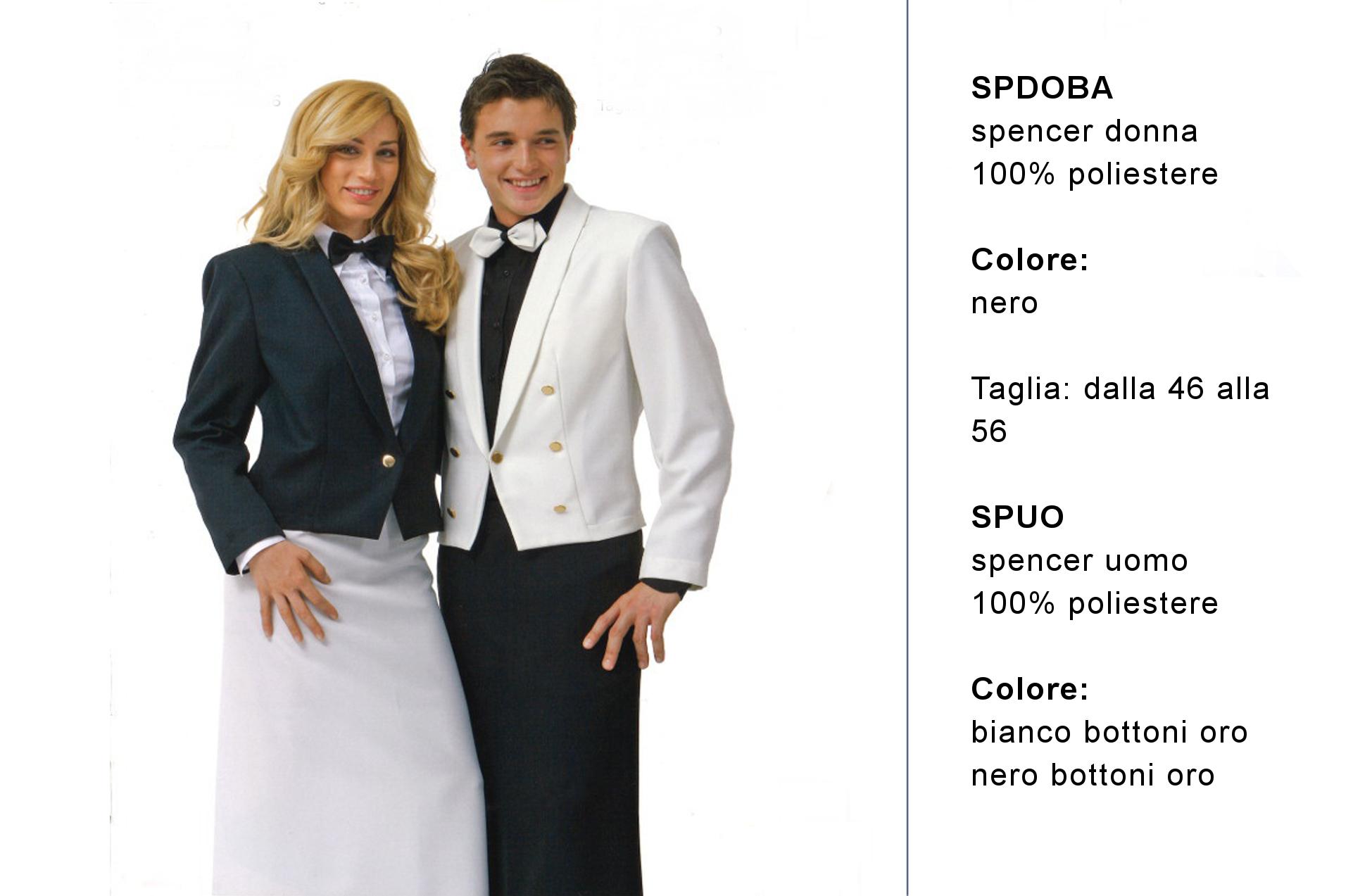 Abbigliamento professionale Made in Italy per ristorante di lusso - Creativity clothingsxwork