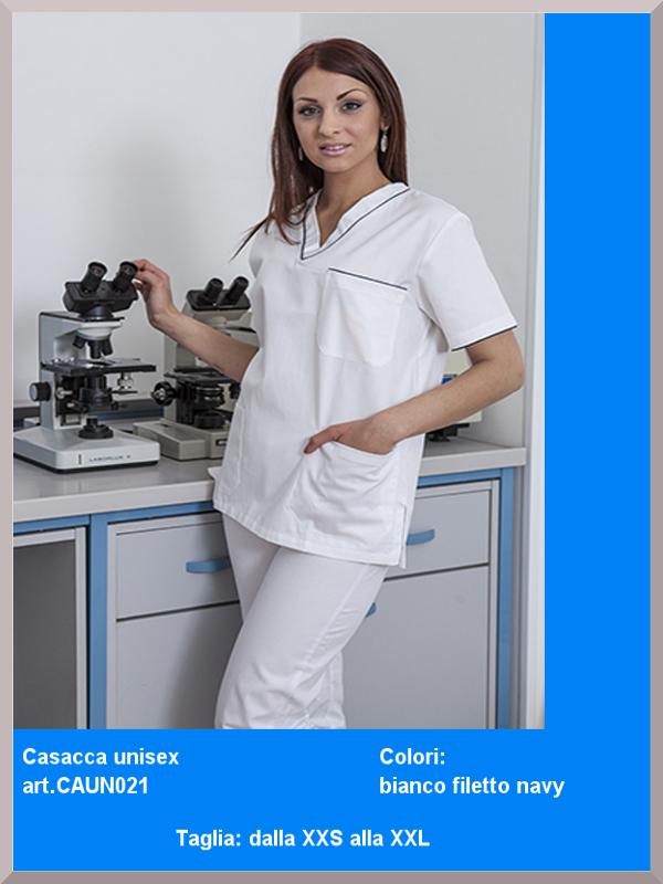 divisa dottoressa igienista analista