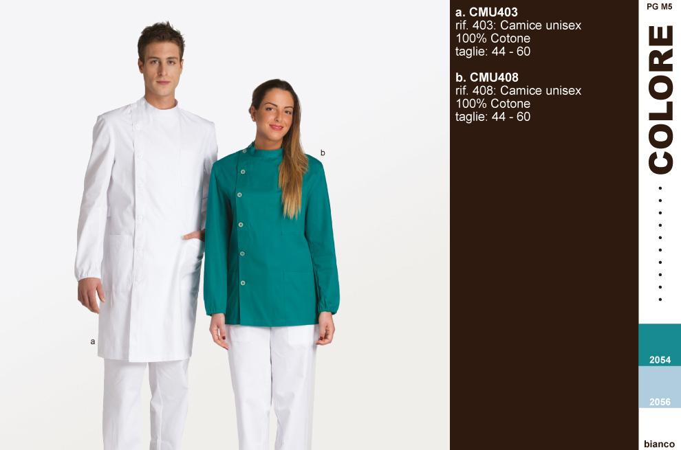 camici per laboratori analisi ospedali cliniche | 100% made in Italy